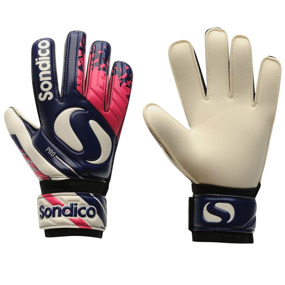 SONDICO Pro Junior Goalkeeper Gloves - Purple/Orange