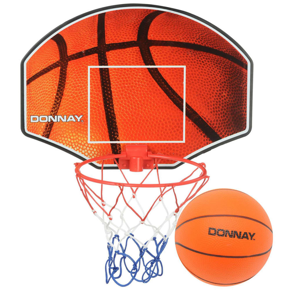 Donnay Mini Basketball Set - Various Patterns, ONESIZE