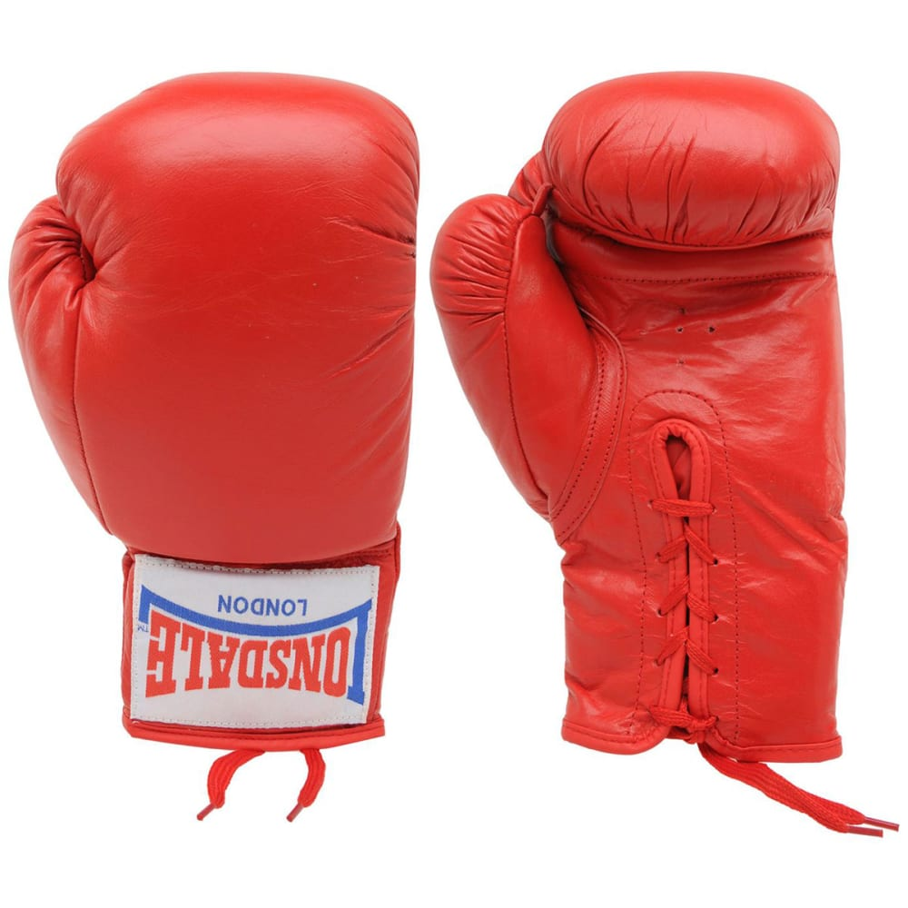 LONSDALE Autograph Boxing Gloves - RED