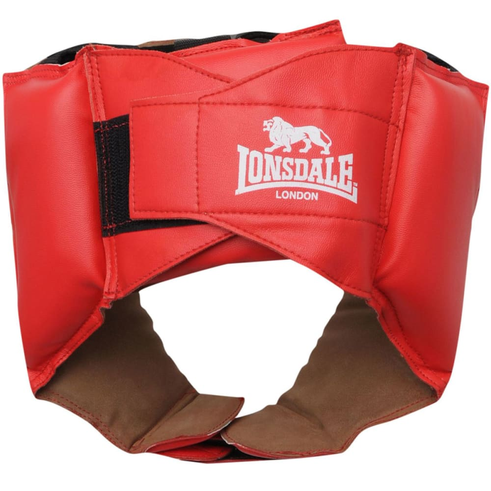 LONSDALE Challenger Head Guard - RED