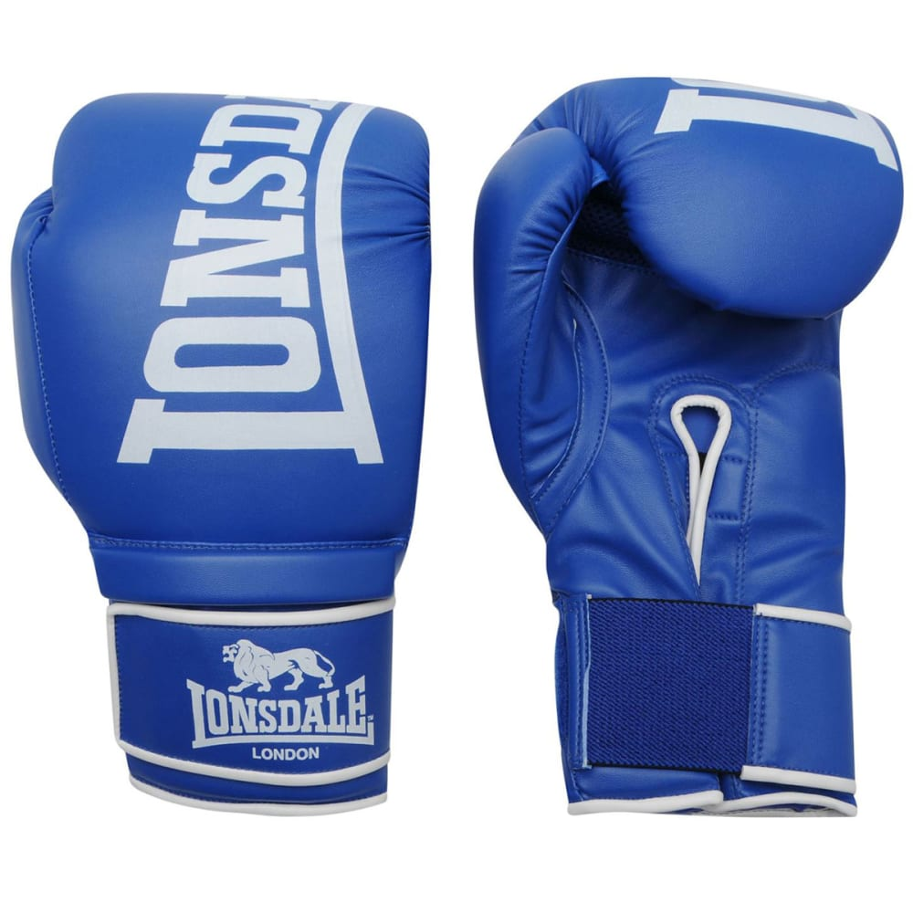 LONSDALE Challenger Boxing Gloves - BLUE