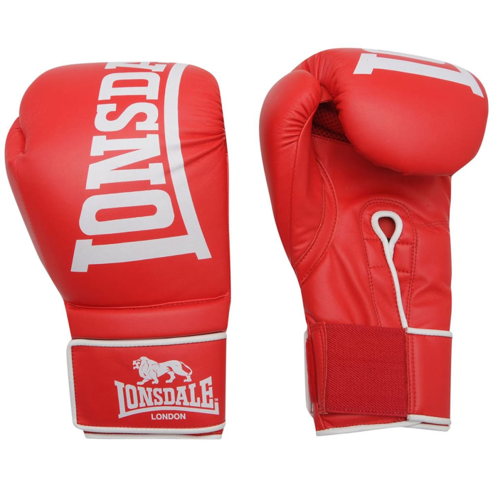 LONSDALE Challenger Boxing Gloves - RED
