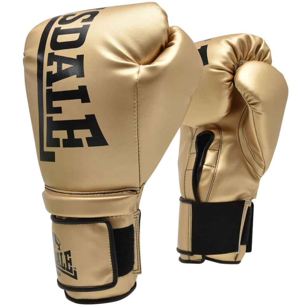 LONSDALE Challenger Boxing Gloves - GOLD