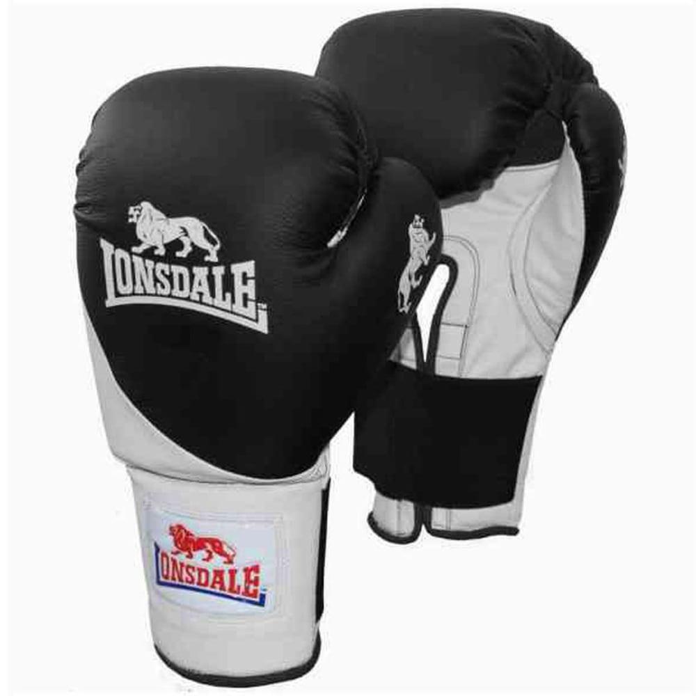 LONSDALE Club Bag Boxing Gloves - BLACK/WHITE