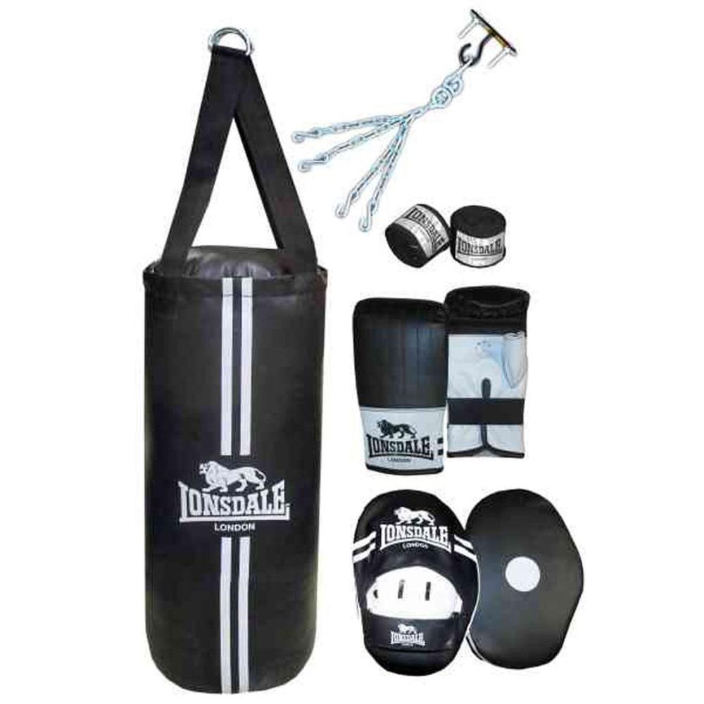 LONSDALE Contend Boxing Set - BLACK