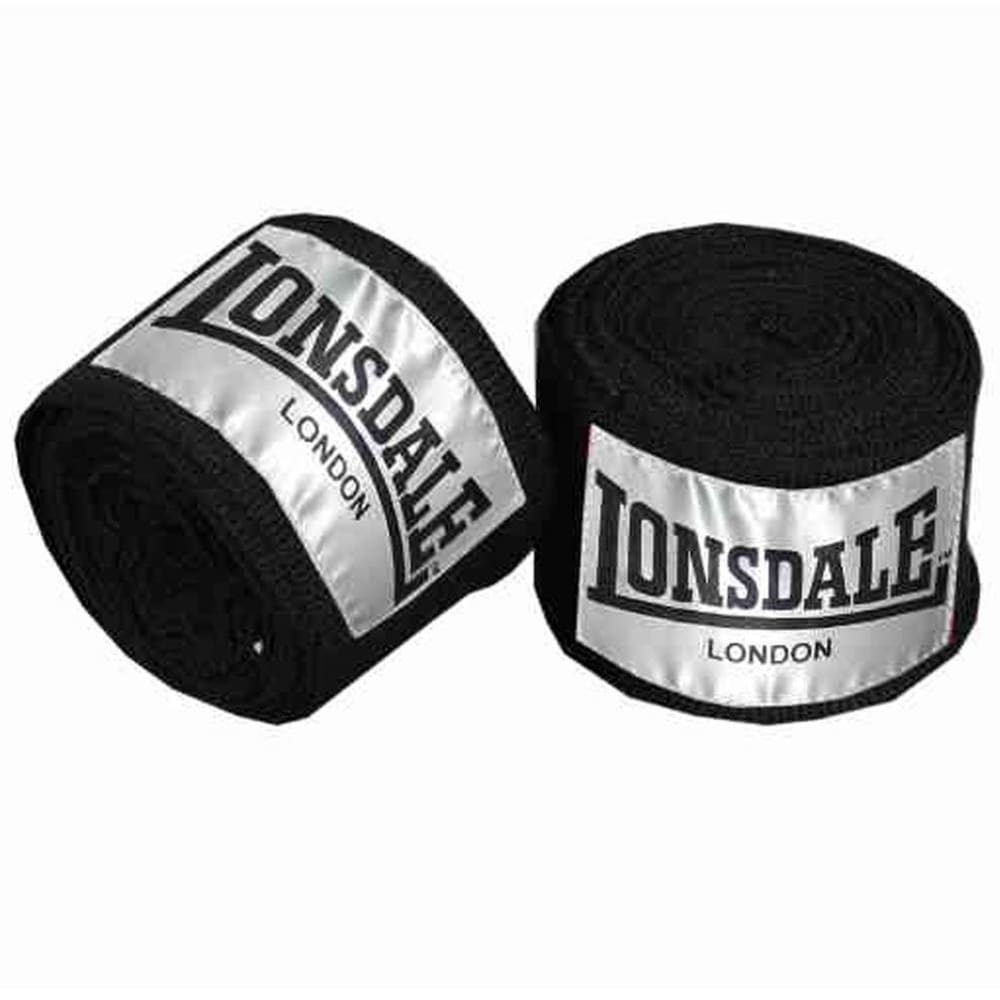 LONSDALE Contender Hand Wrap - BLACK