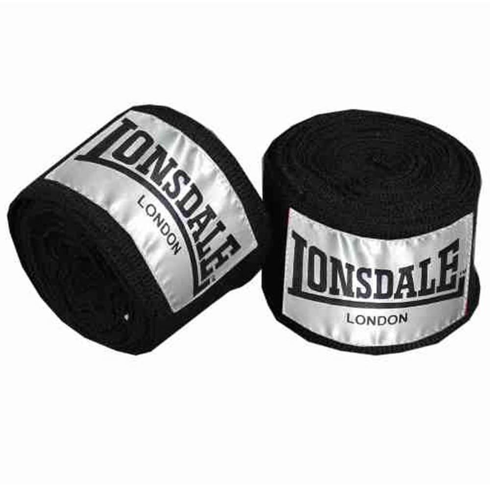 LONSDALE Contender Hand Wrap - BLACK