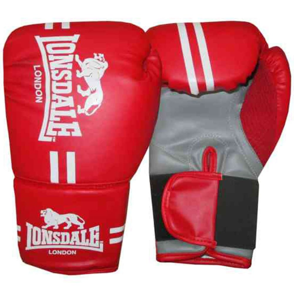 LONSDALE Contender Gloves - RED