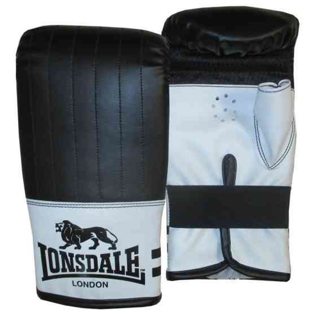 LONSDALE Contender Bag Mitts - BLACK/WHITE