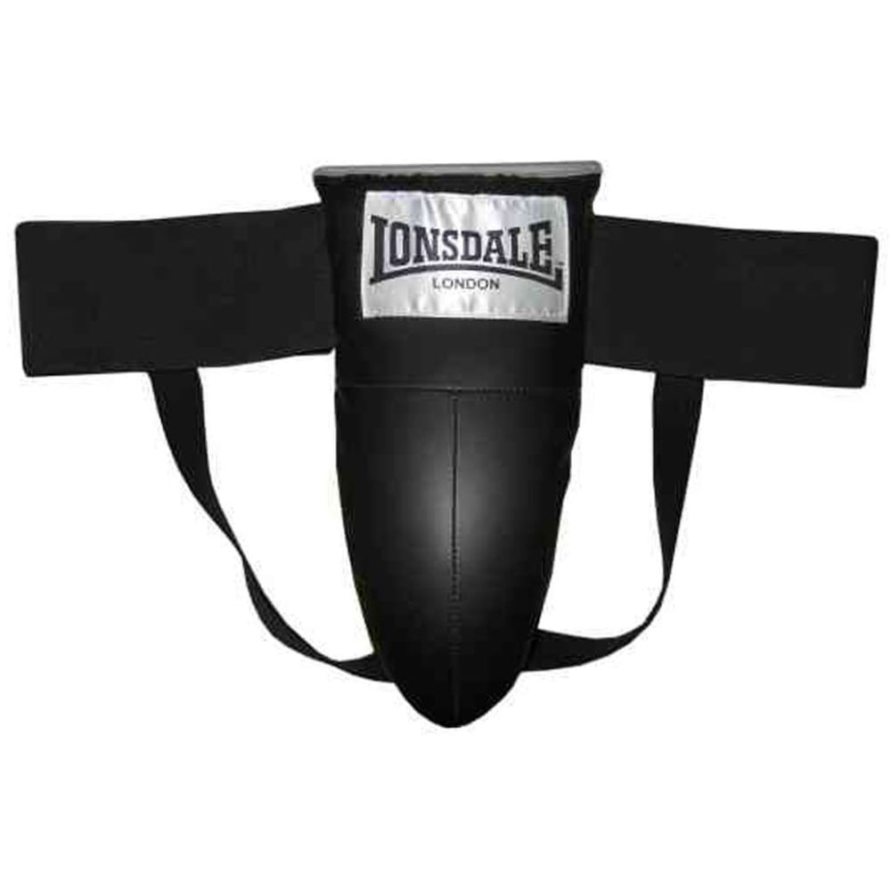 LONSDALE Groin Protector - BLACK/GREY