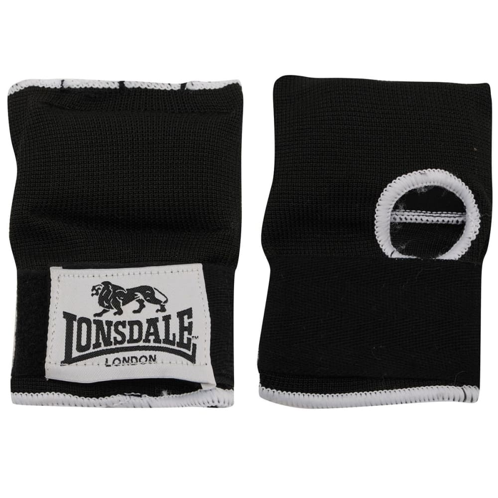LONSDALE Training Inner Gloves - BLACK/WHITE