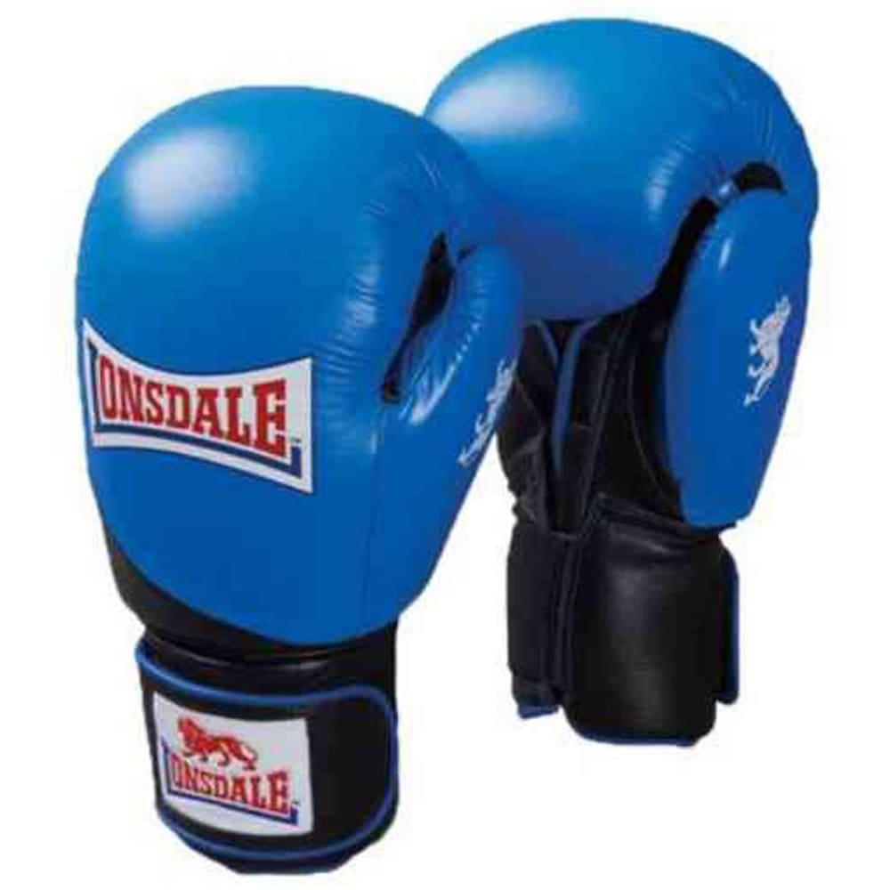 LONSDALE Leather Club Sparring Gloves - BLUE/BLACK