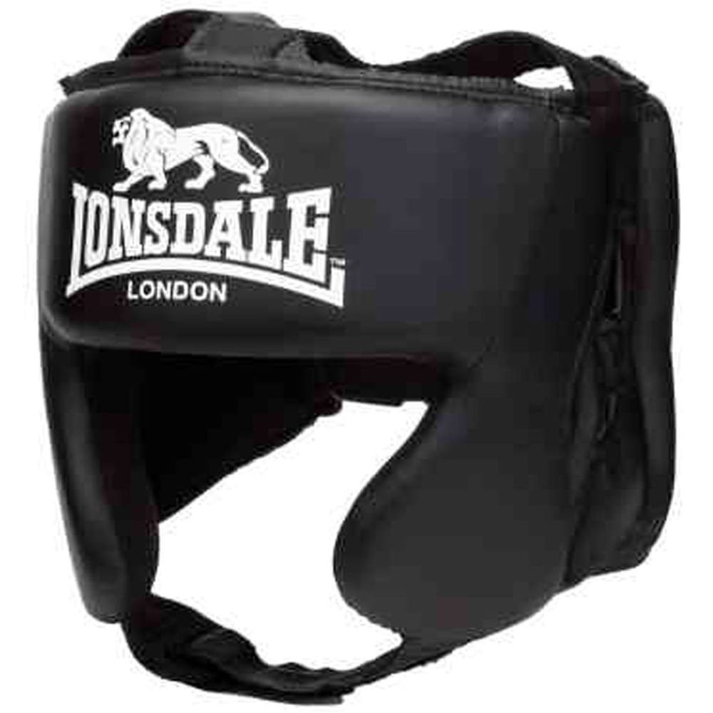 LONSDALE Pro Training Head Guard - BLACK/WHITE