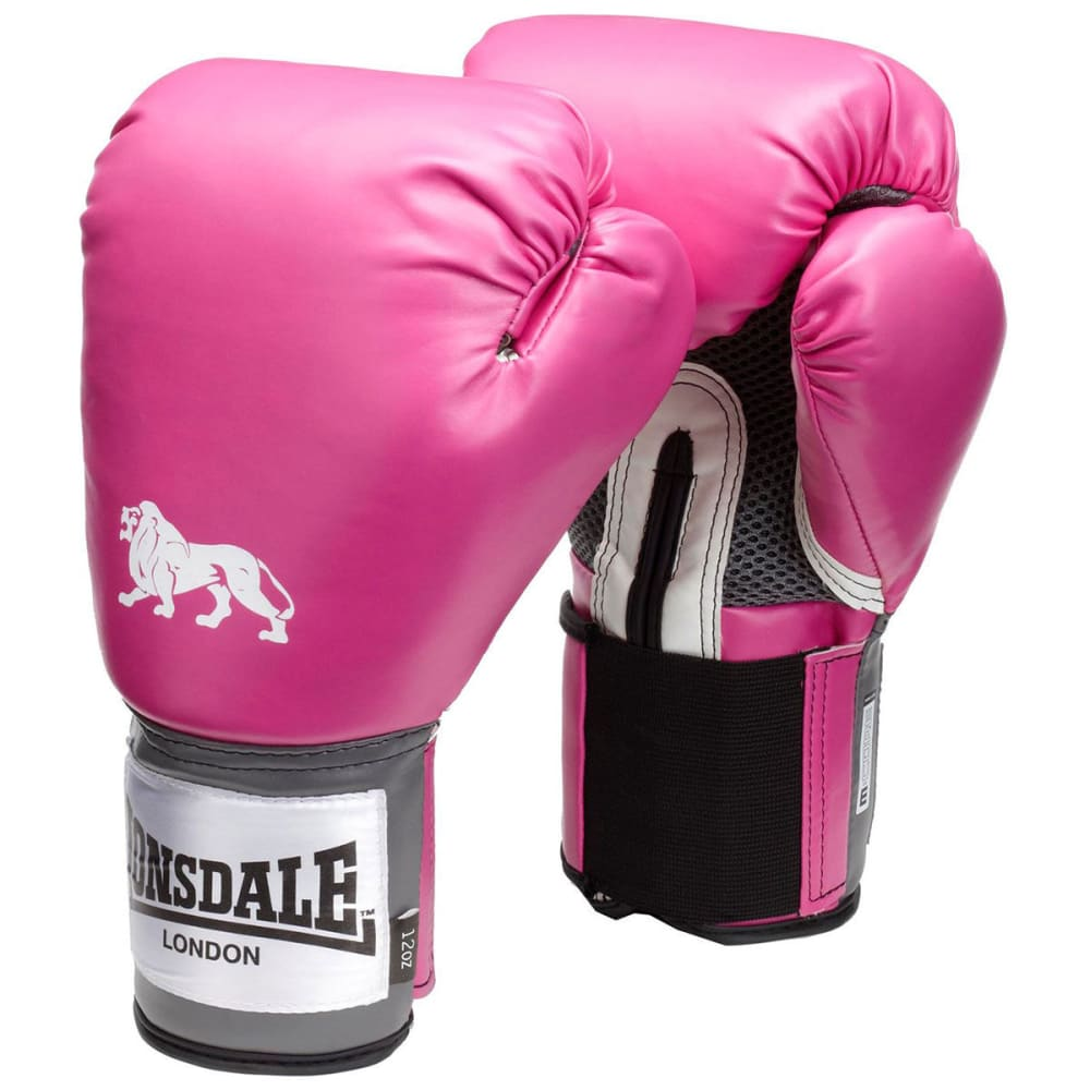 LONSDALE Pro Training Boxing Gloves - PINK