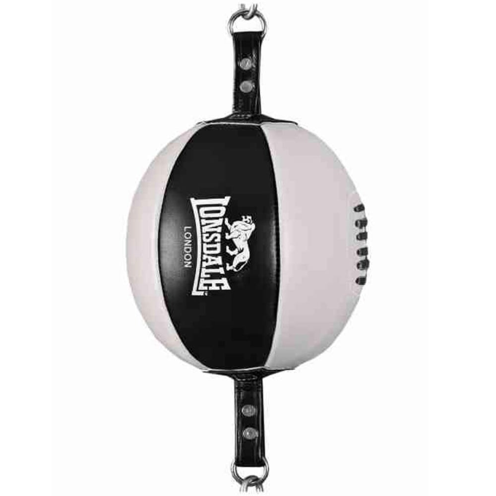 LONSDALE PU Floor-to-Ceiling Ball - BLACK/WHITE