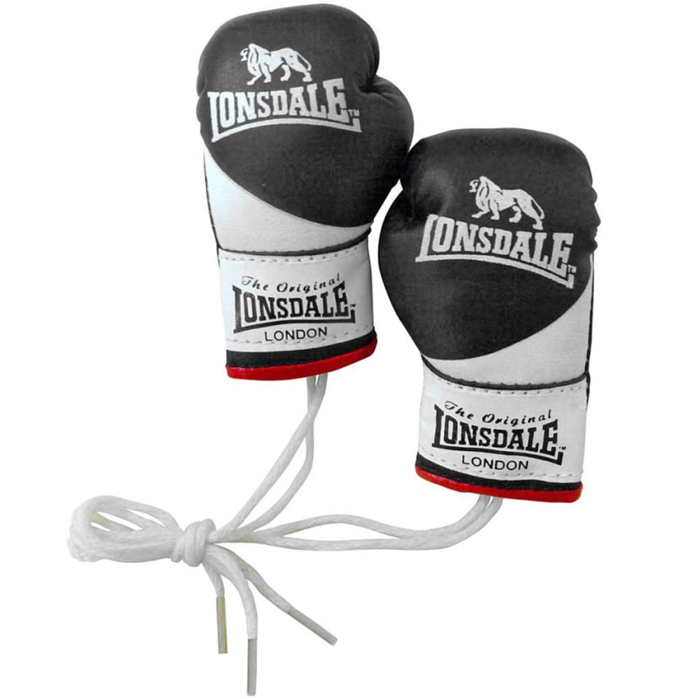Lonsdale Mini Gloves Car Accessory - Various Patterns, ONESIZE