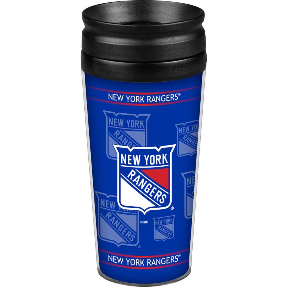 NEW YORK RANGERS Full Wrap Tumbler - ROYAL BLUE