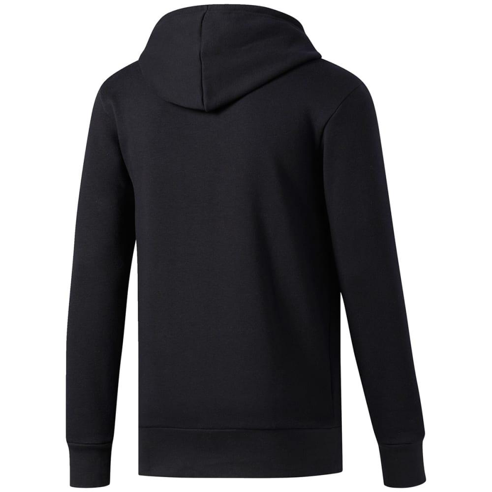 ADIDAS Men's Essential Logo Hoodie - BLACK/BLACK-BR3234