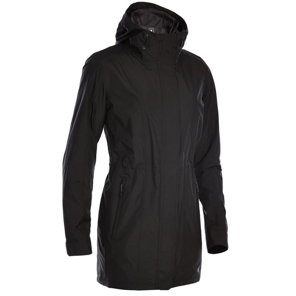 Ems Women's Mist Rain Trench - Black, S