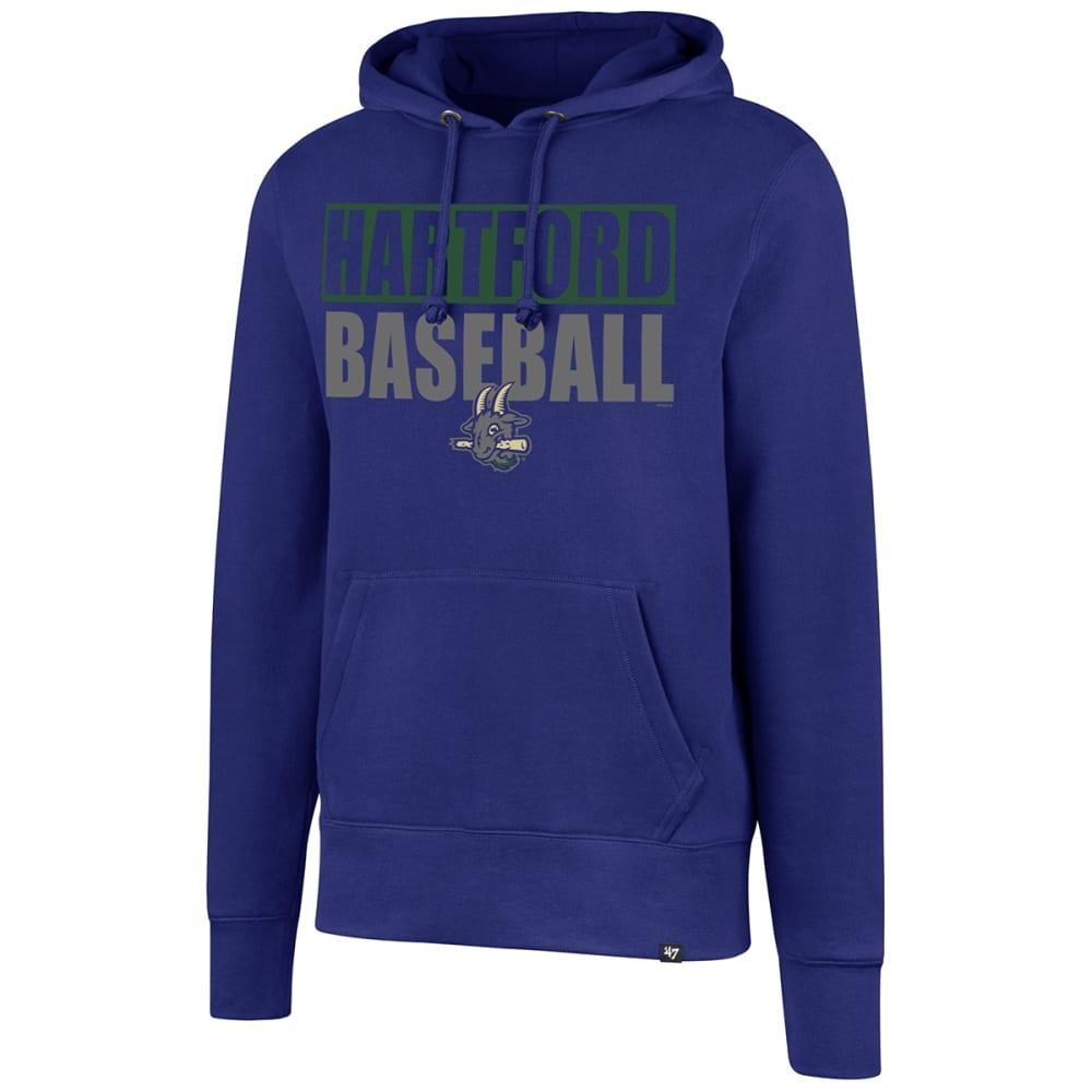 HARTFORD YARD GOATS Men's '47 Headline Pullover Fleece Hoodie - ROYAL BLUE