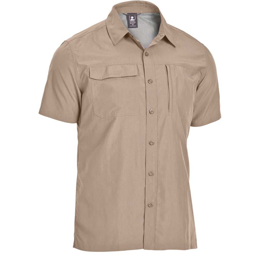 EMS Men's Trailhead Short-Sleeve Shirt - WALNUT