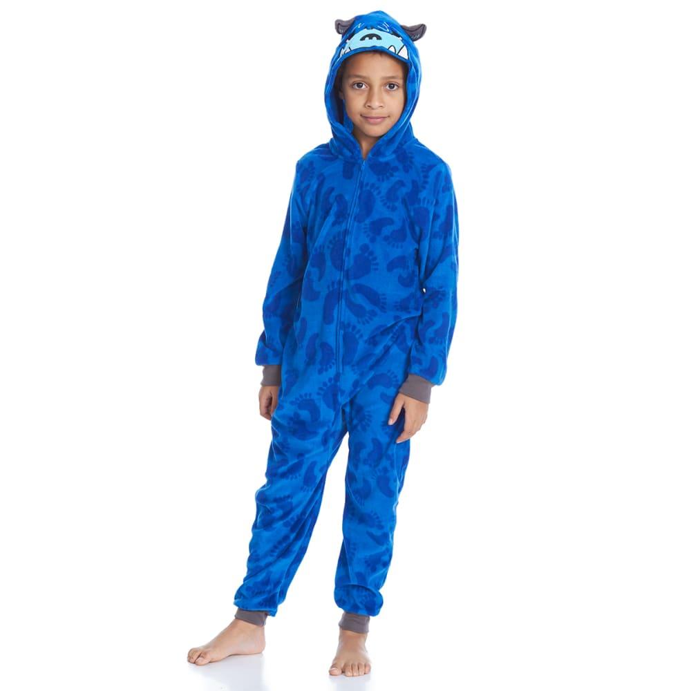 KOMAR Big Boys' Yeti Blanket Sleeper Pajamas - BLUE PRINT