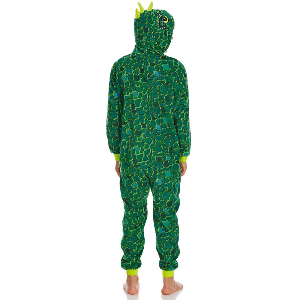 KOMAR Big Boys' Dinosaur Blanket Sleeper Pajamas - PRINT