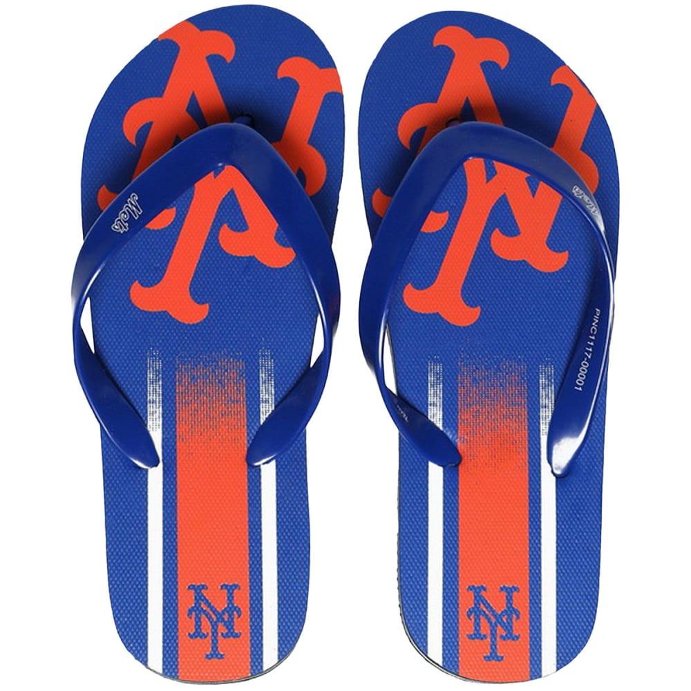 NEW YORK METS Unisex Gradient Big Logo Flip Flops - ROYAL BLUE