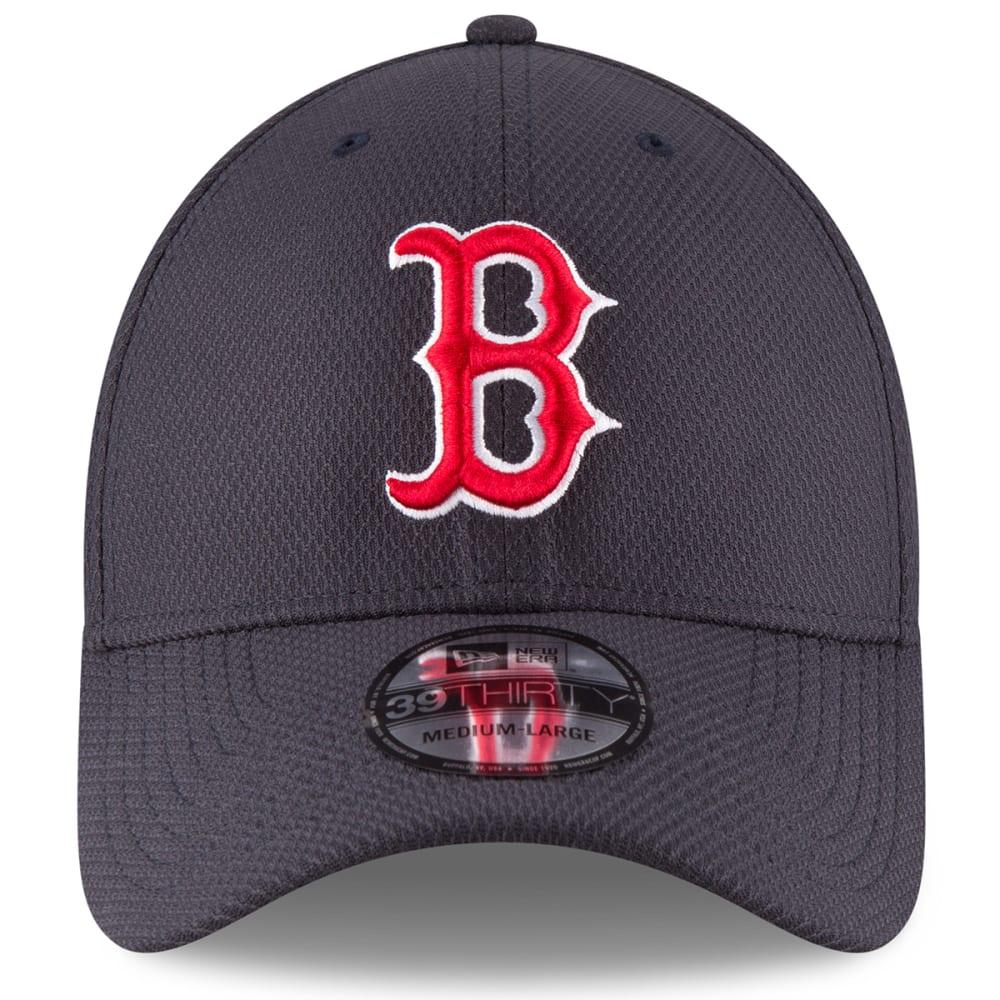 BOSTON RED SOX Men's 39Thirty Diamond Era Classic Stretch Fit Cap - NAVY