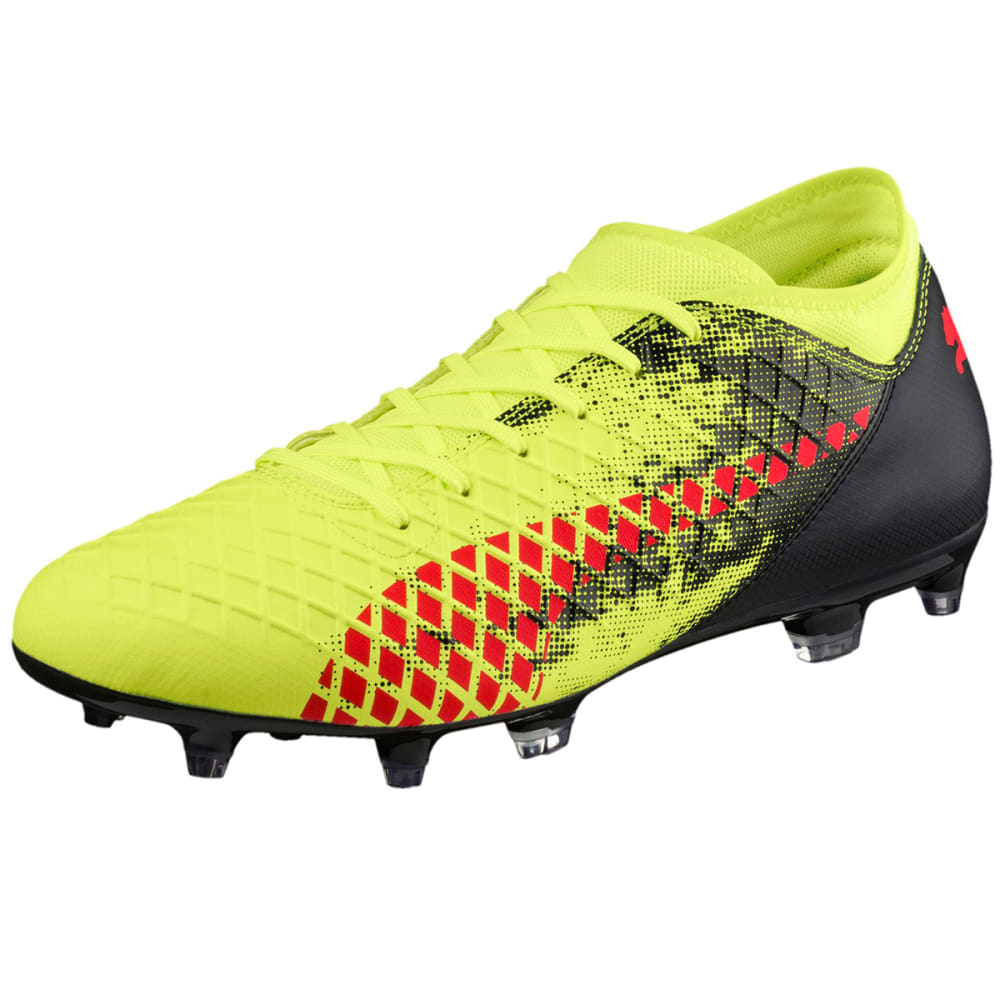 Puma Men's Future 18.4 Fg/ag Soccer Cleats - Yellow, 7