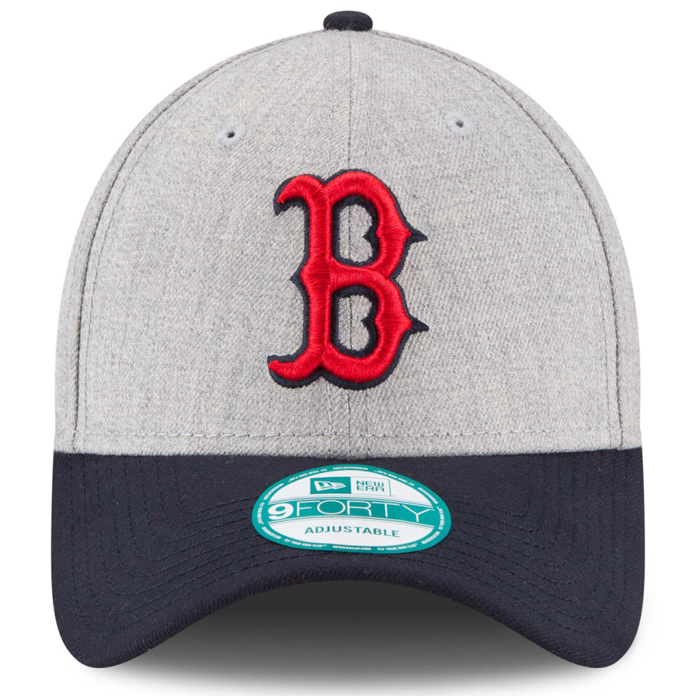 BOSTON RED SOX Heathered 9FORTY Adjustable Hat - HEATHER GREY
