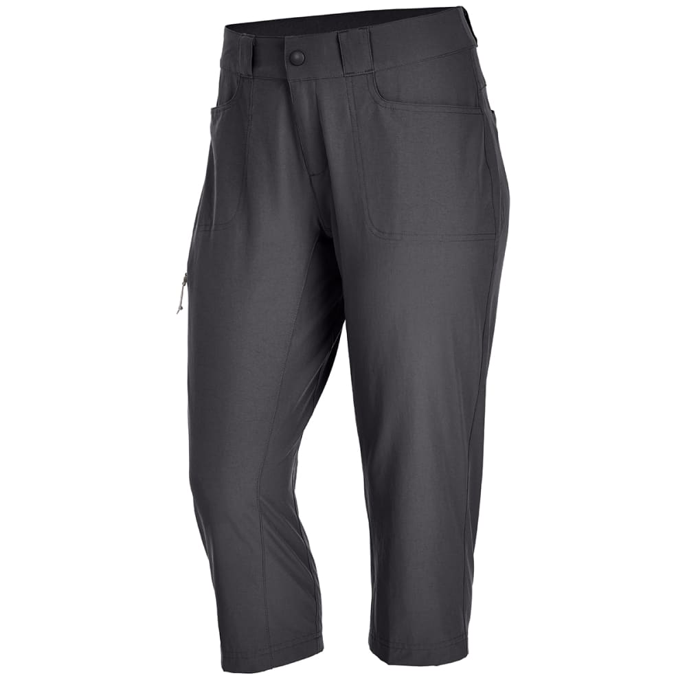 Ems(R) Women's Compass Trek Capri Pants - Black, 0