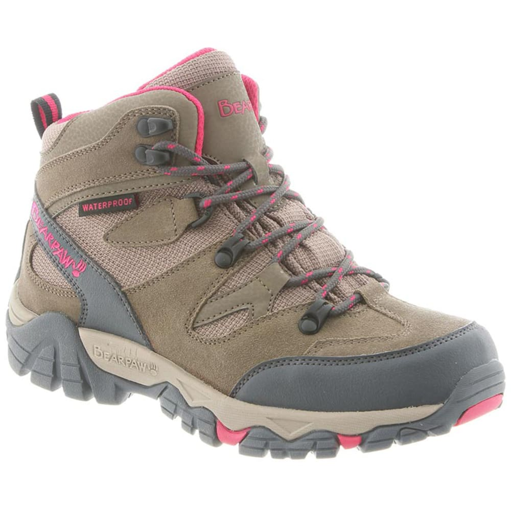BEARPAW Women's Corsica Waterproof Hiking Boots, Tan - TAN