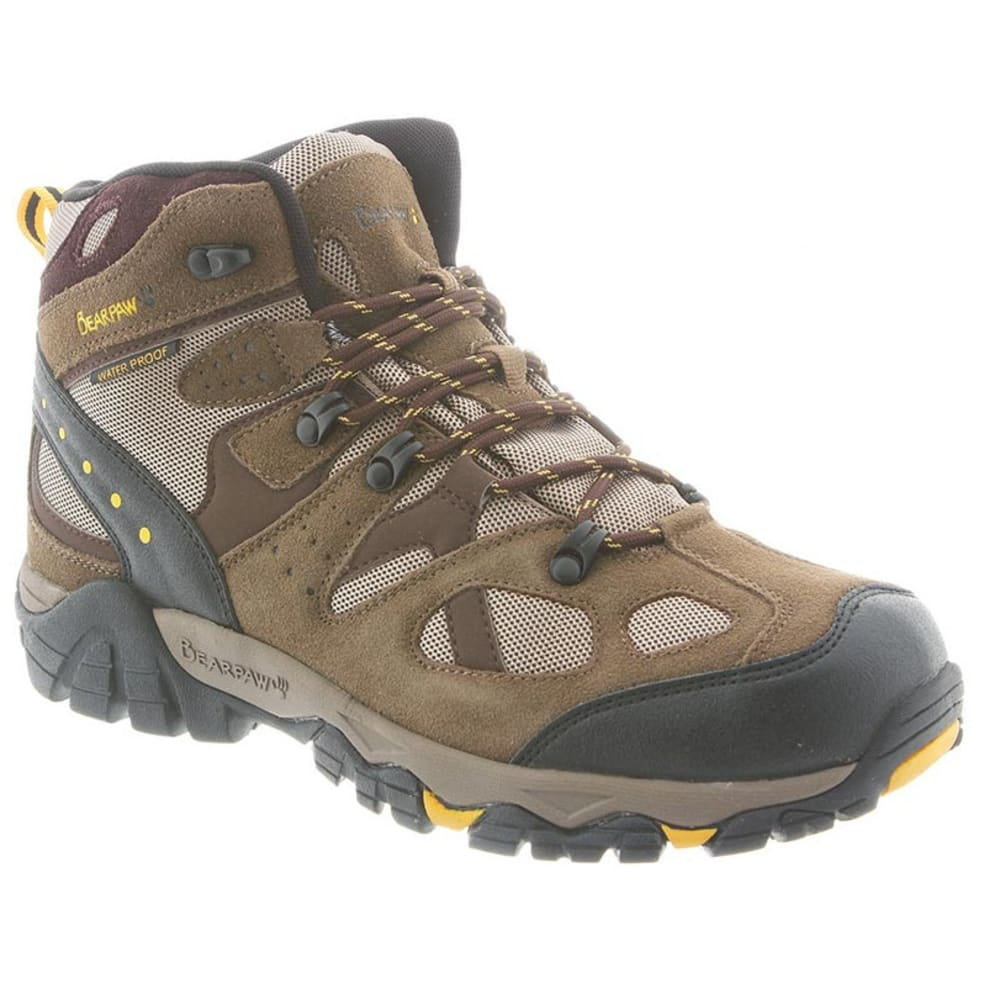 BEARPAW Men's Brock Hiking Boots - OLIVE