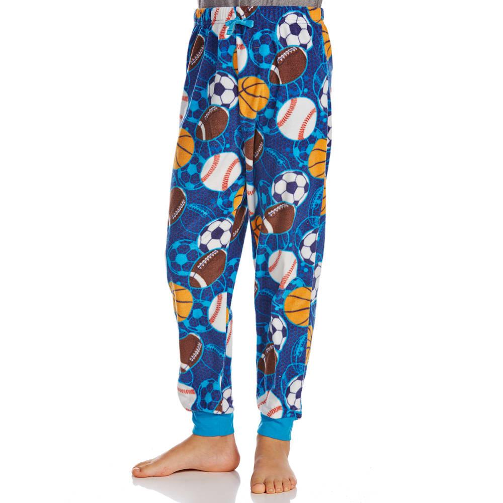 KOMAR Big Boys' Sports Print Sleep Pants - BLUE MULTI PRINT