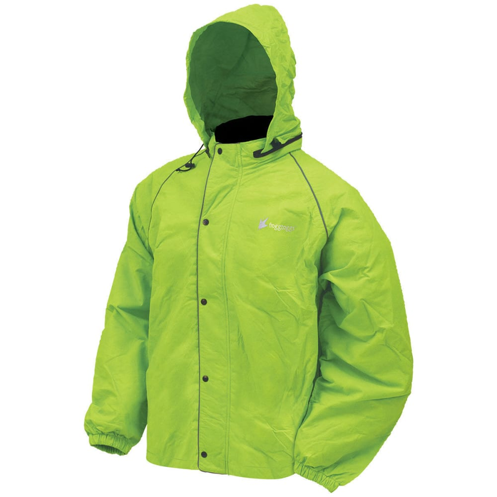 FROGG TOGGS Men's Road Toad Reflective Work Jacket S