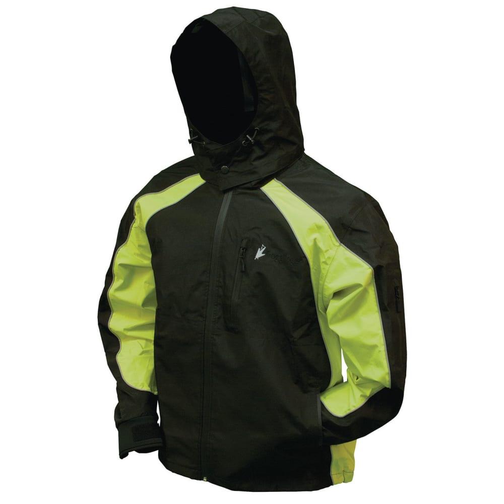 FROGG TOGGS Men's Toadz Kikker II Reflective Rain Jacket S