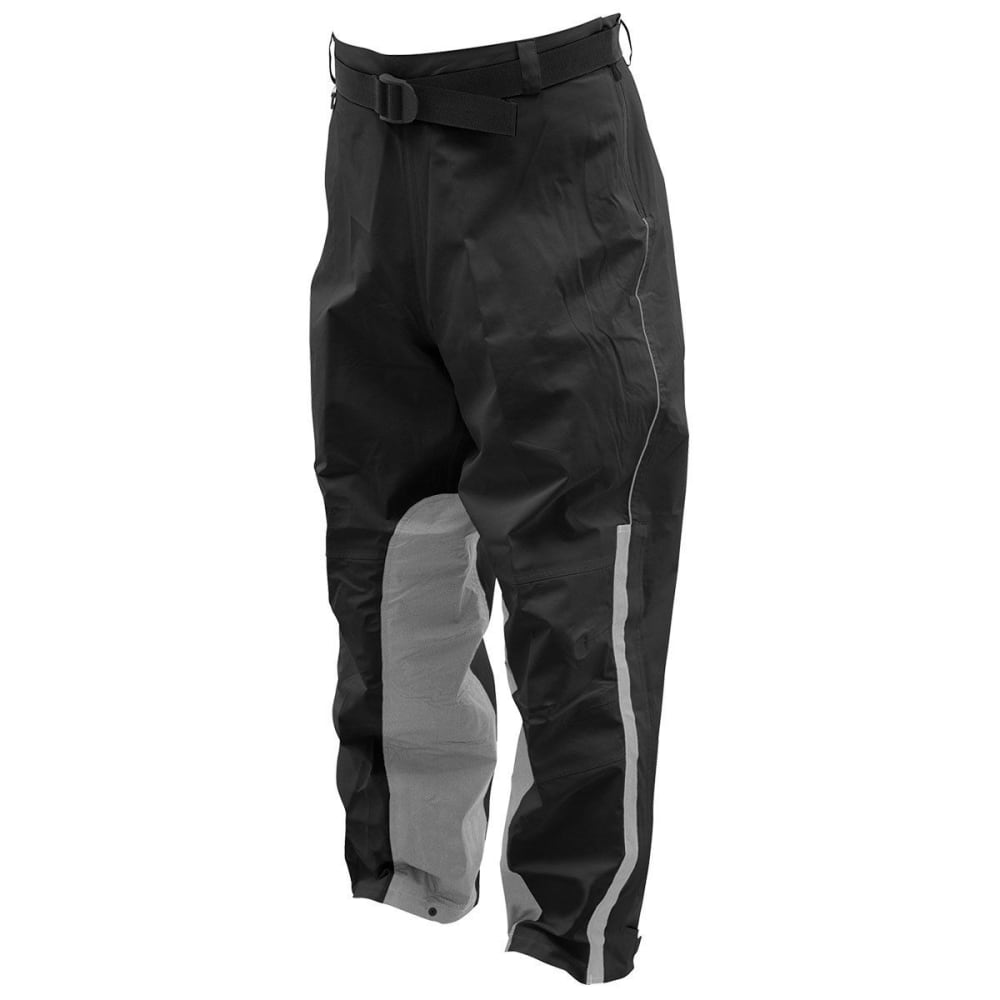 FROGG TOGGS Men's ToadSkinz Reflective Rain Pants - BLACK