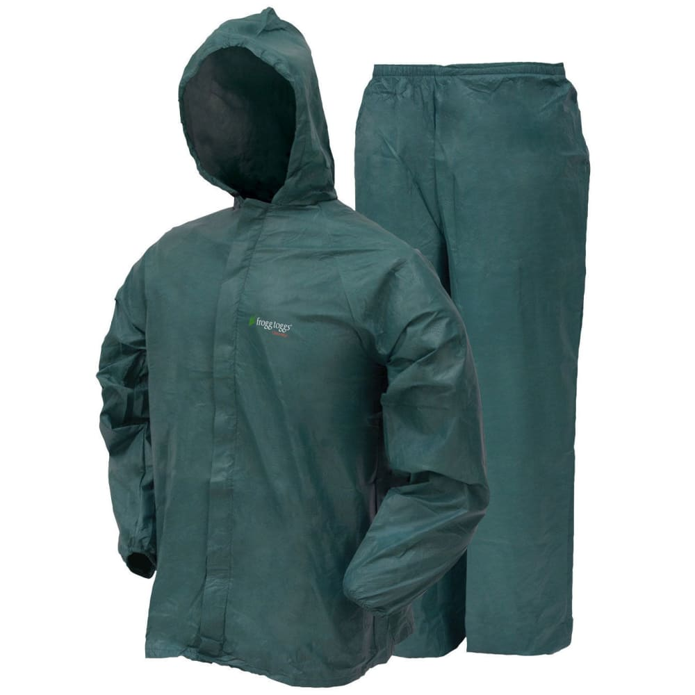 "FROGG TOGGS Men's Ultra-Lite2""¢ Rain Suit - GREEN"