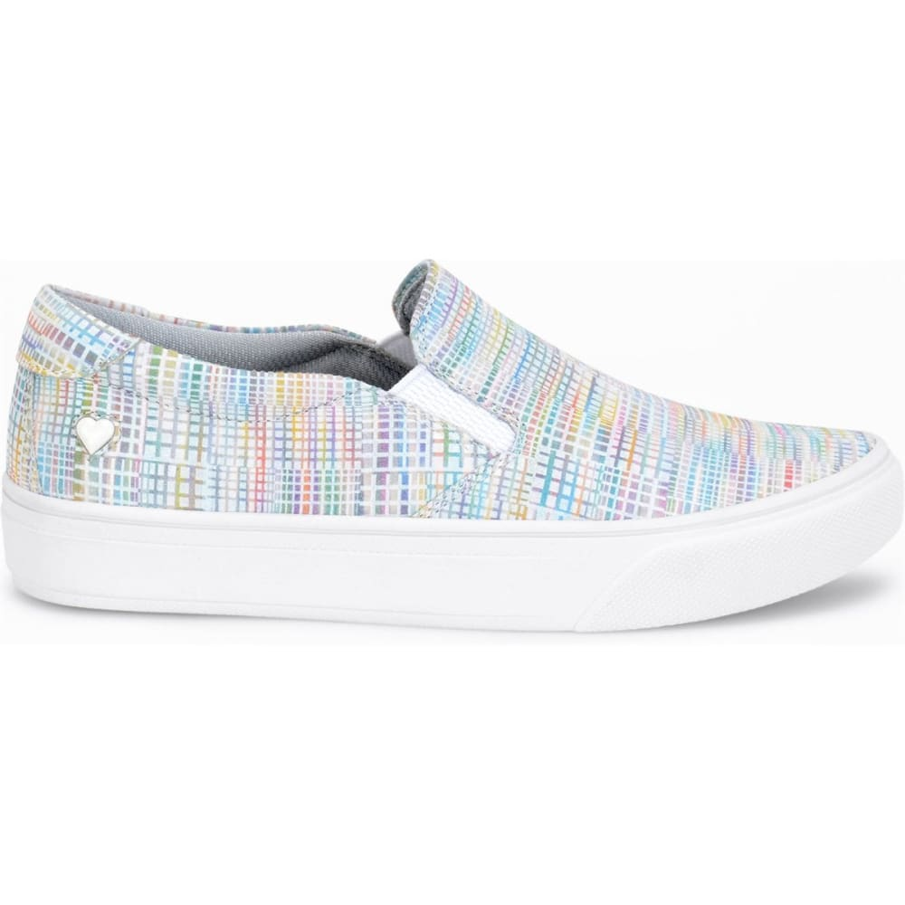 NURSE MATES Women's Align Faxon Slip-On Shoes, Rainbow Sherbet - RAINBOW SHERBERT