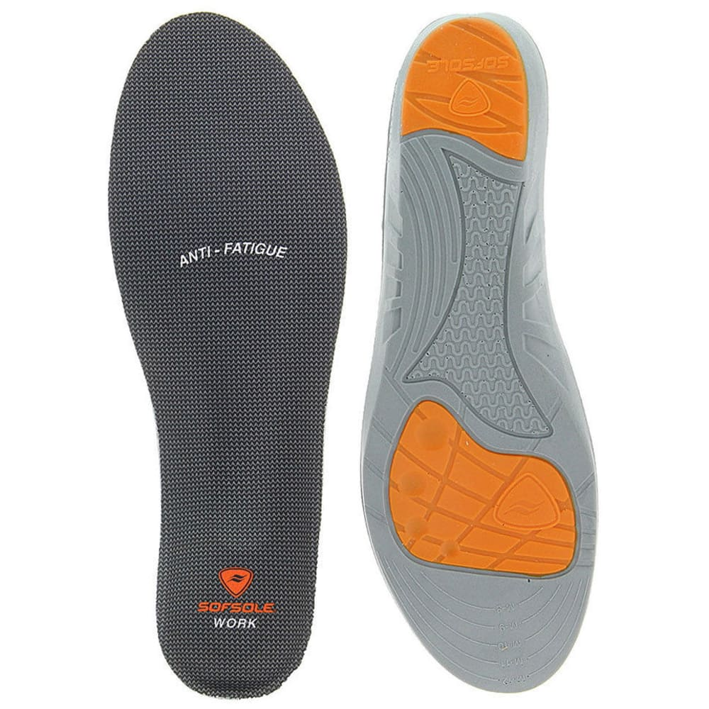 SOF SOLE Men's Work Performance Insoles ONE SIZE