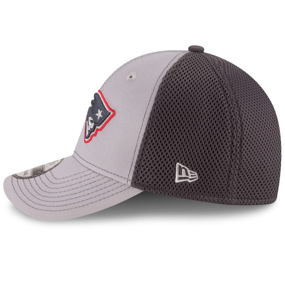 NEW ENGLAND PATRIOTS Grayed Out Neo 2 39THIRTY Flex Hat - GREY