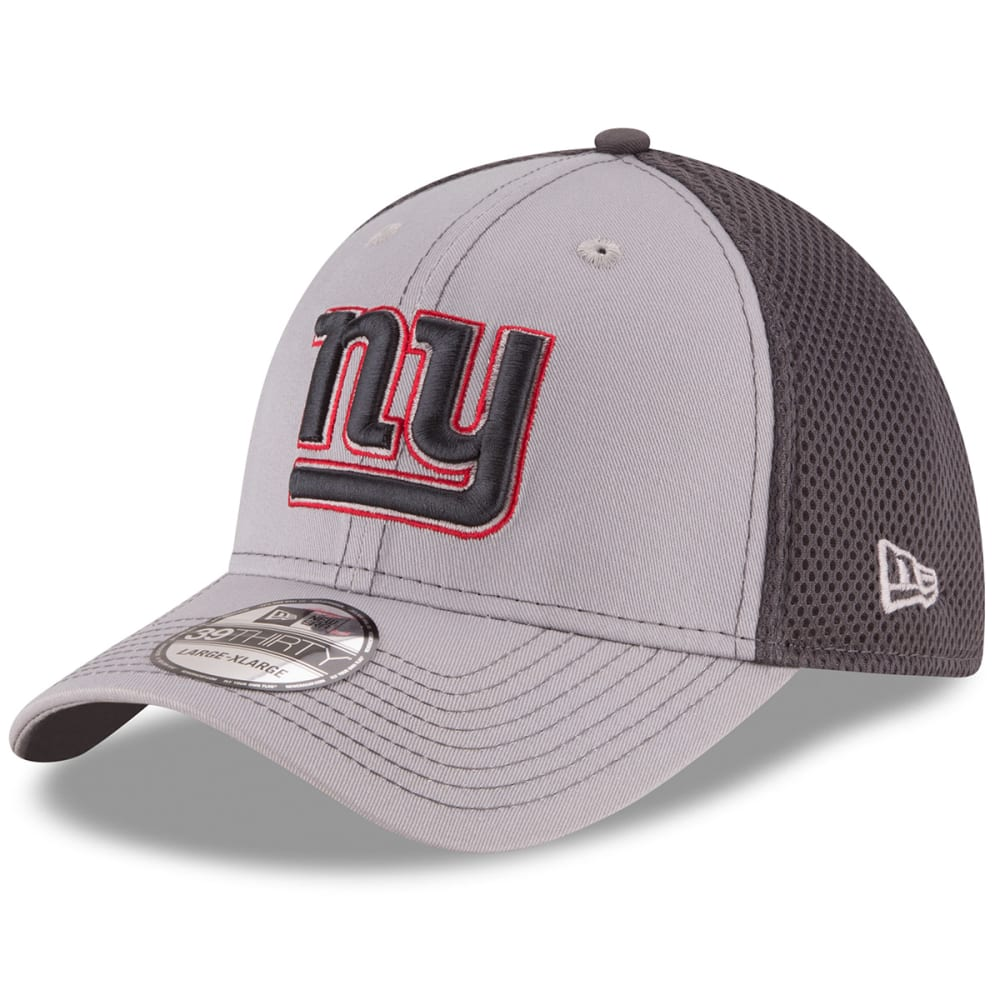 NEW YORK GIANTS Grayed Out Neo 2 39THIRTY Flex Hat - GREY