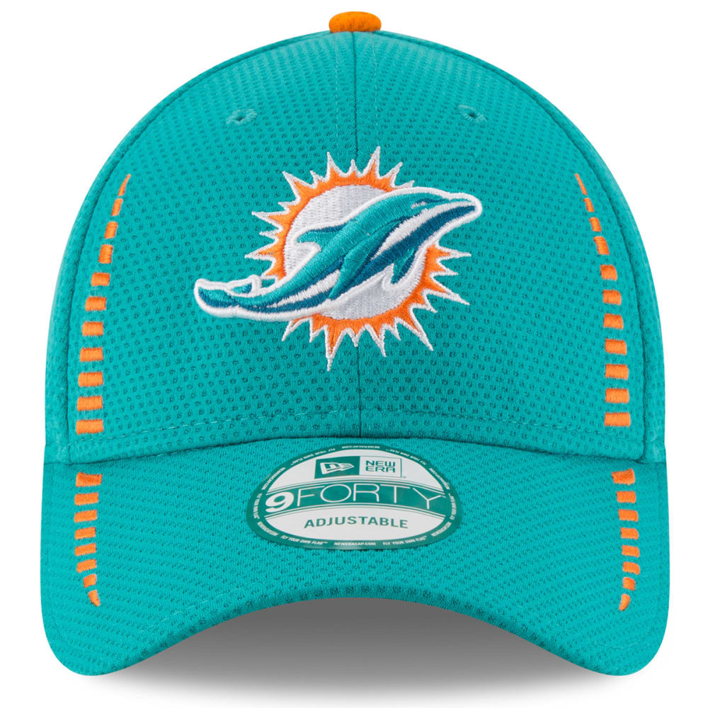 MIAMI DOLPHINS Men's 9Forty Speed Training Adjustable Cap - TEAL