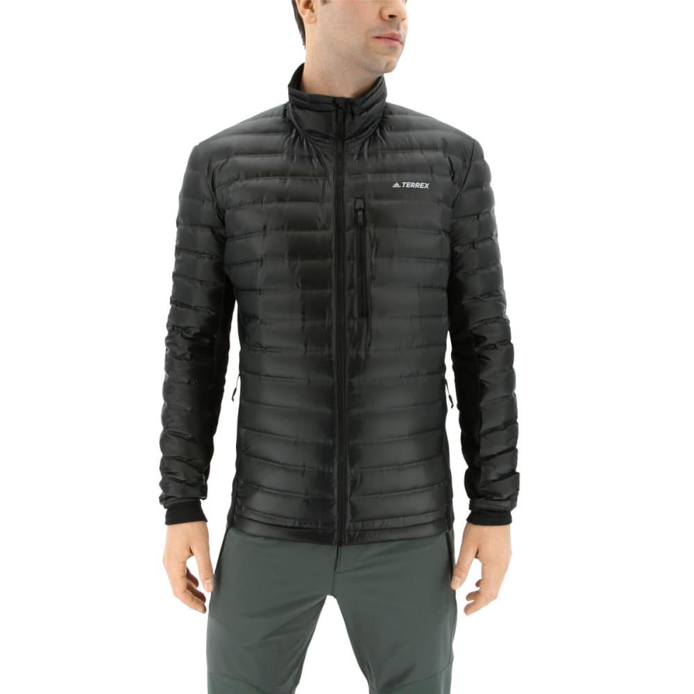 ADIDAS Men's Terrex Hybrid Down Jacket - BLACK
