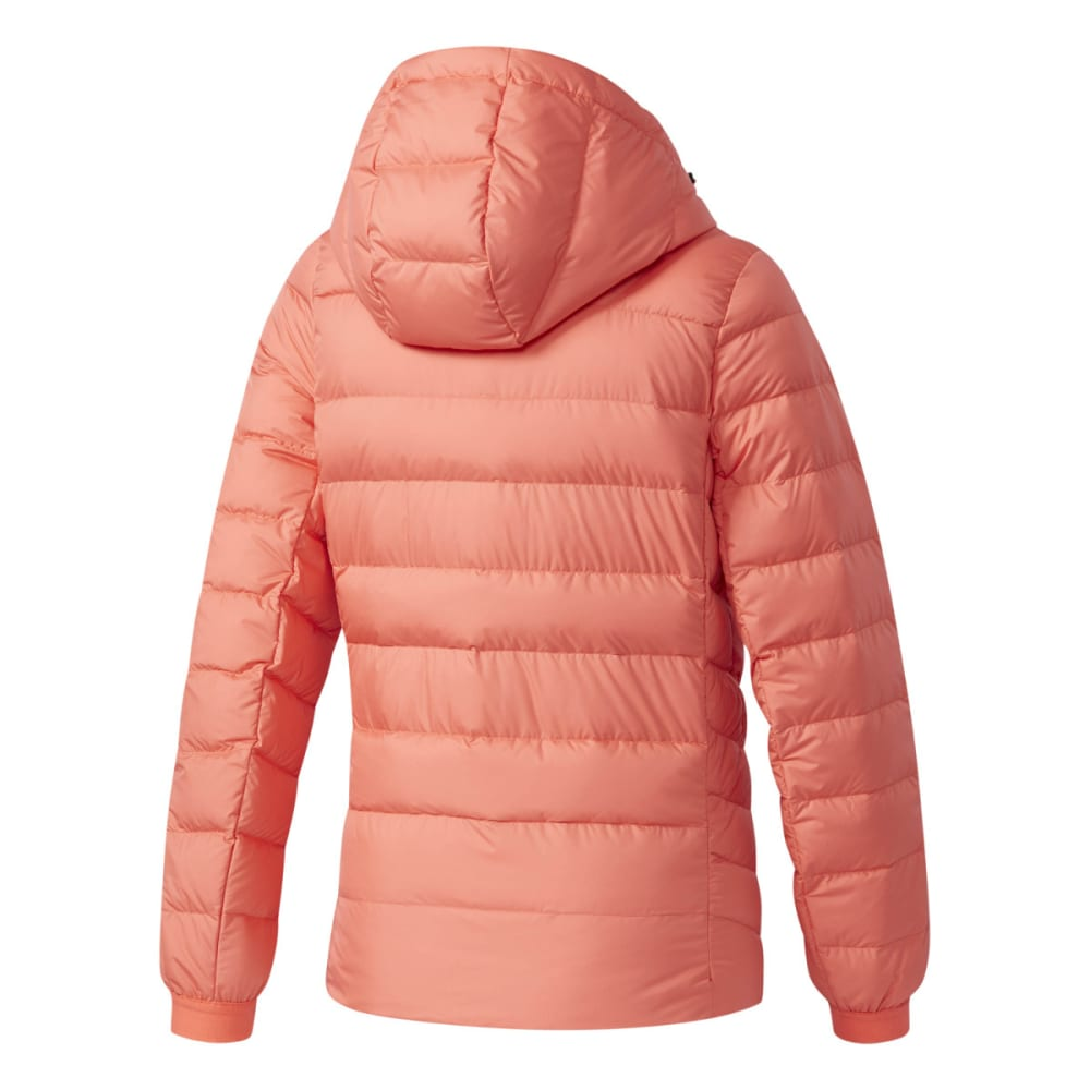 ADIDAS Women's Climawarm Nuvic Hooded Down Jacket - EASY CORAL/CORAL