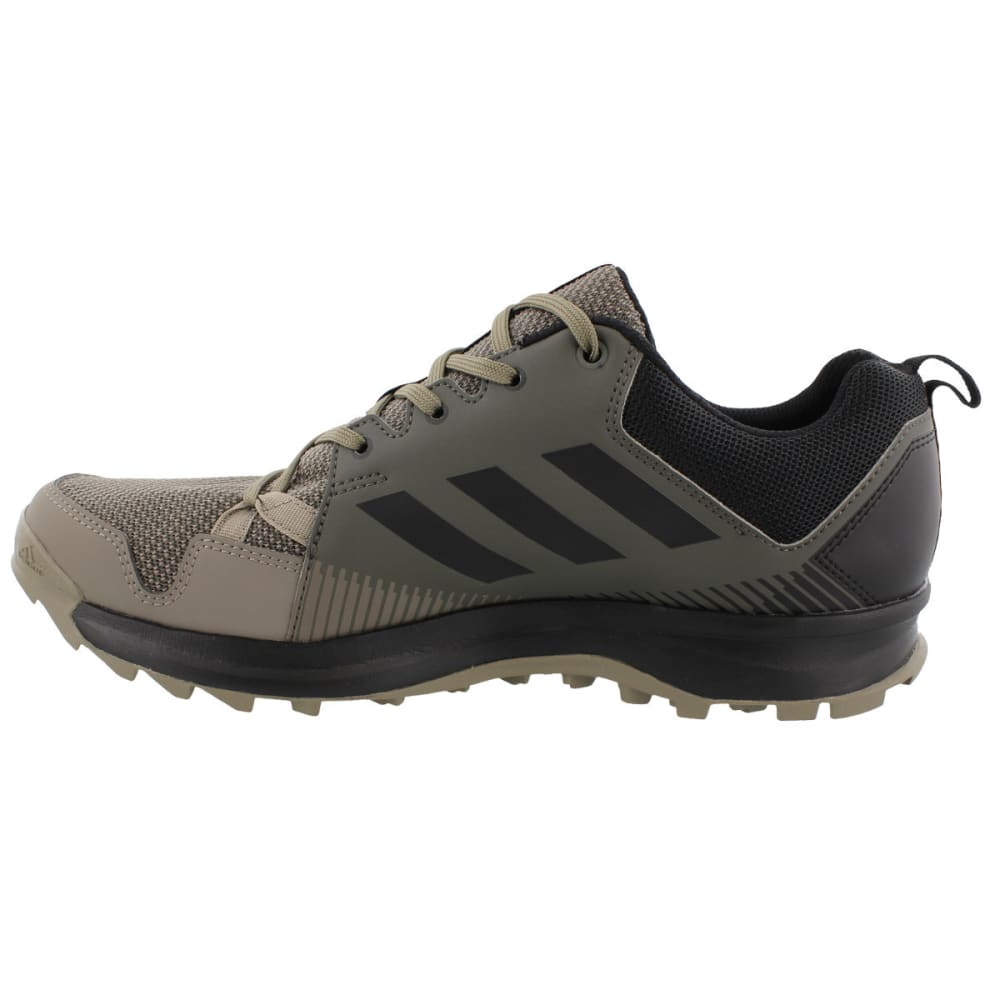 ADIDAS Men's Terrex Tracerocker Trail Running Shoes, Utility Grey/Black/Simple Brown - GREY/BLACK/BROWN