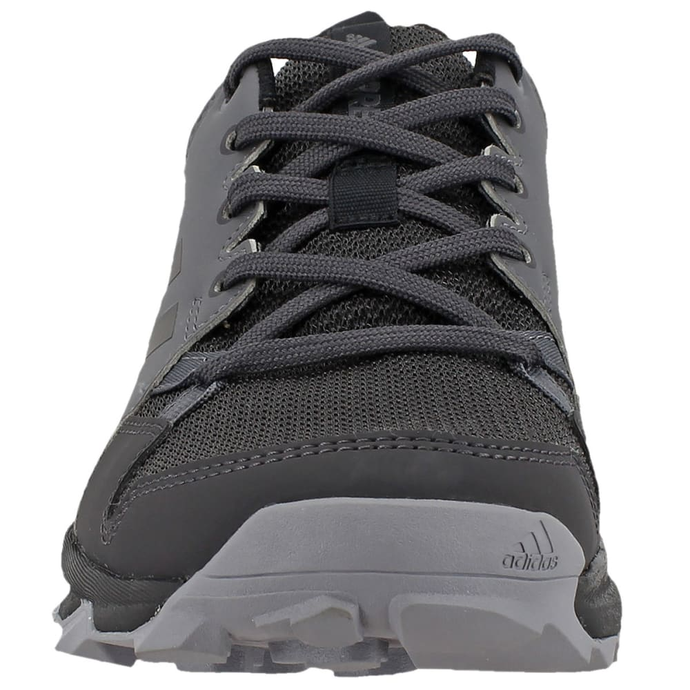 ADIDAS Women's Terrex Tracerocker Trail Running Shoes, Grey Five/Black/Utility Black - GREY/BLACK/BLACK