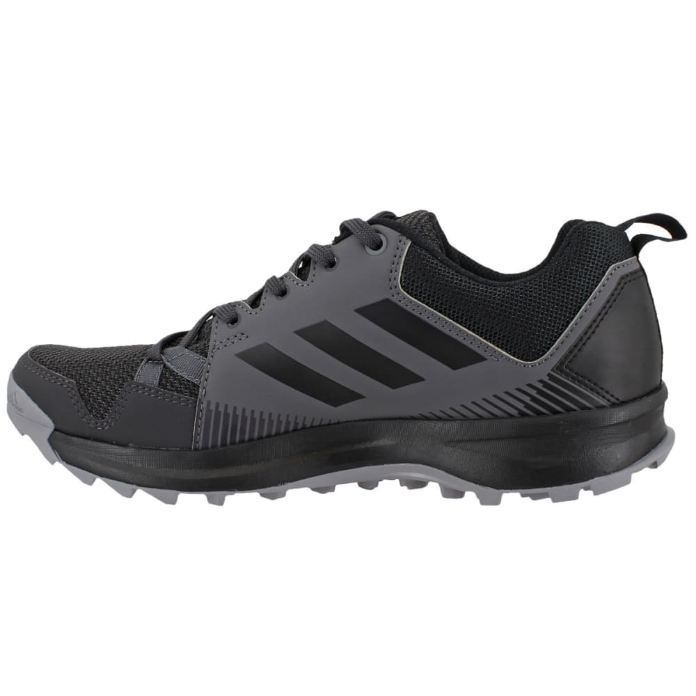 ADIDAS Women's Terrex Tracerocker Trail Running Shoes, Grey Five/Black/Utility Black - GREY/BLACK/BLACK