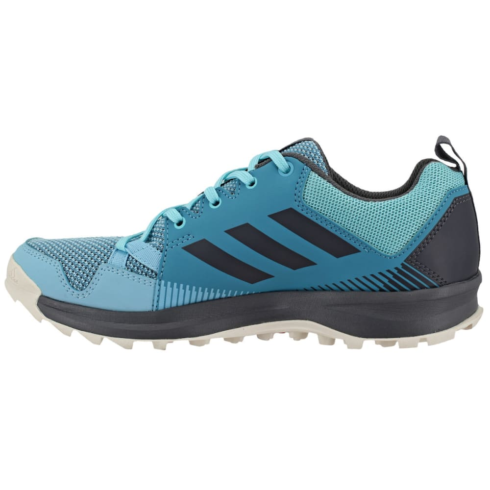 ADIDAS Women's Terrex Tracerocker Trail Running Shoes, Vapor Blue/Grey Four/ Icey Blue - BLUE/GREY/BLUE